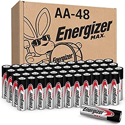Amazon Com Energizer Aa Batteries 48 Count Double A Max Alkaline Battery Health Personal Care
