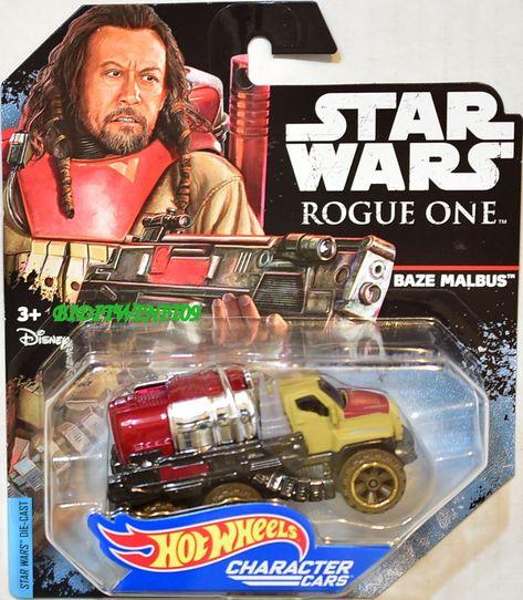 HOT WHEELS 2017 Star Wars character CARS Rogue One scarif Stormtrooper djl61