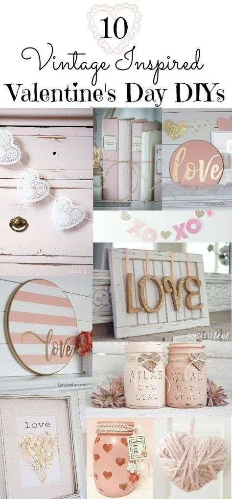 10 Vintage Inspired Valentine's Day DIY Projects - Beauty For Ashes