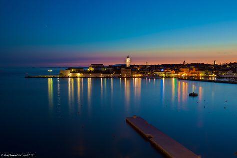 Sunset on the Island of Rab, Croatia with @seakayakcroatia