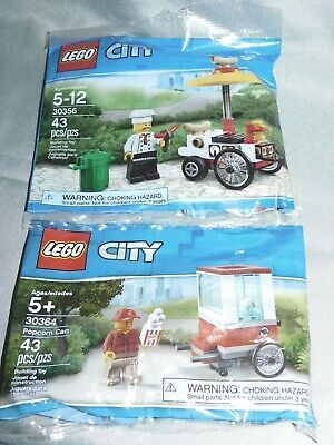Hot Dog Stand Lego City Polybag 30356 Limited