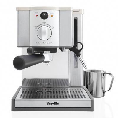 Breville Cafe Roma Model Esp8xl Espresso Cappuccino Machine Espressomachines Cappuccinomachine In 2020 Breville Cafe Roma Espresso Machine Best Espresso Machine Espresso Coffee Machine