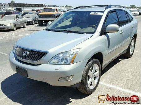 foreign used tokunbo 2008 lexus rx330 for sale in nige sell at ease online marketplace sell to real people lexus car prices sale foreign used tokunbo 2008 lexus rx330
