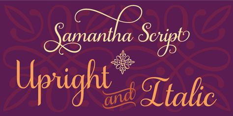 Samantha Script - Webfont & Desktop font « MyFonts