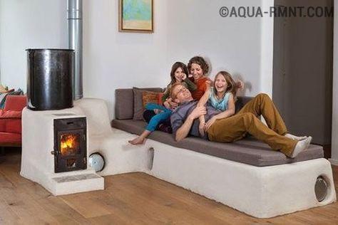 23 Ideas Home Renovation Fireplace Woods Rocket Mass Heater