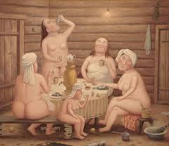 Sauna BBW