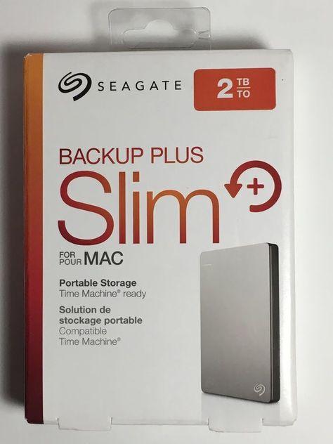 STDS2000100 Seagate Backup Plus Mac 2TB External Portable