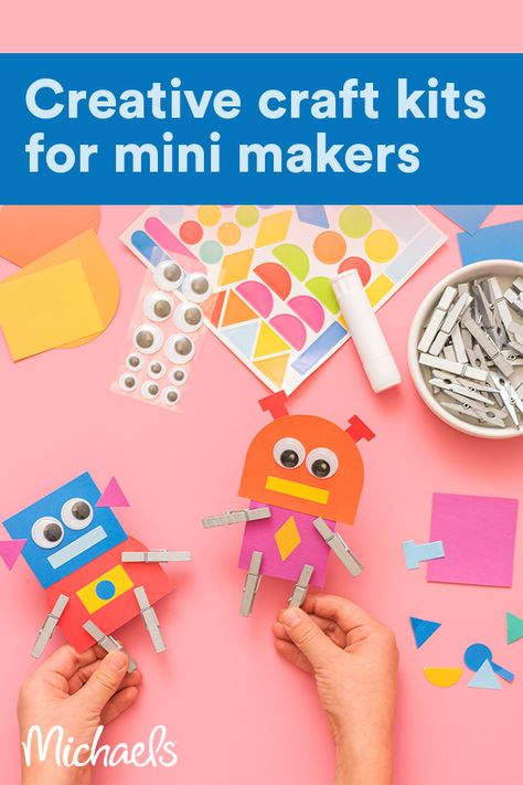 Keep mini makers happy and busy with exclusive craft kits from The Best Ideas for Kids™.