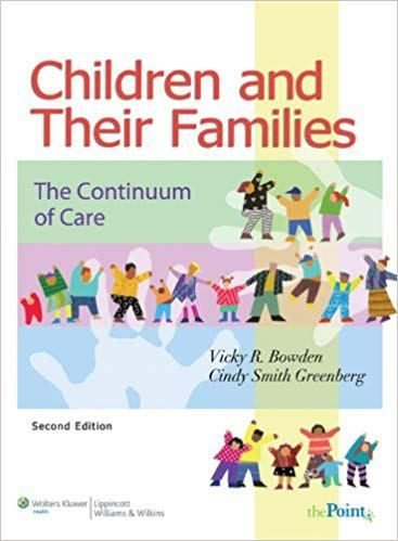 Children And Their Families 2nd Edition Bowden Greenberg