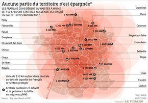 Le Nucleaire Une Energie Meconnue Et Crainte Carte De France