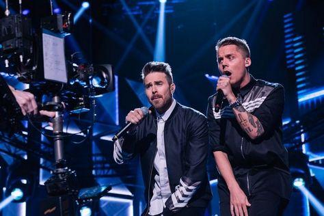 Melodifestivalen 2016: Ace Wilder and Robin Bengtsson
