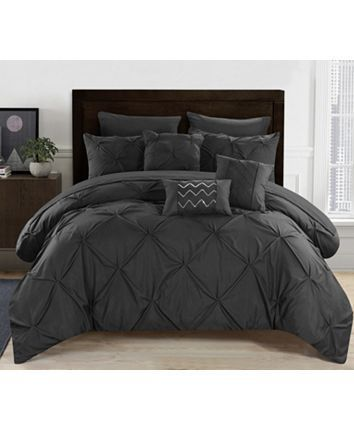 Chic Home Hannah 8 Piece Twin Bed In A Bag Comforter Set Reviews Home Macy S Chic Home Hannah 10 Piece Queen Comforter Set Reviews Home Macy S