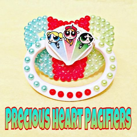 bubbles Powerpuff Girls Adult Pacifier...