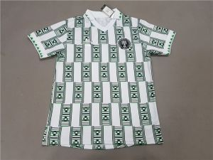 2018 World Cup Nigeria Retro Jersey Replica White Shirt Cfc288 Futbol