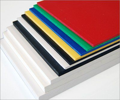 Komatex Foamed Pvc Sheets Tap Plastics Plastic Sheets Vinyl Lettering