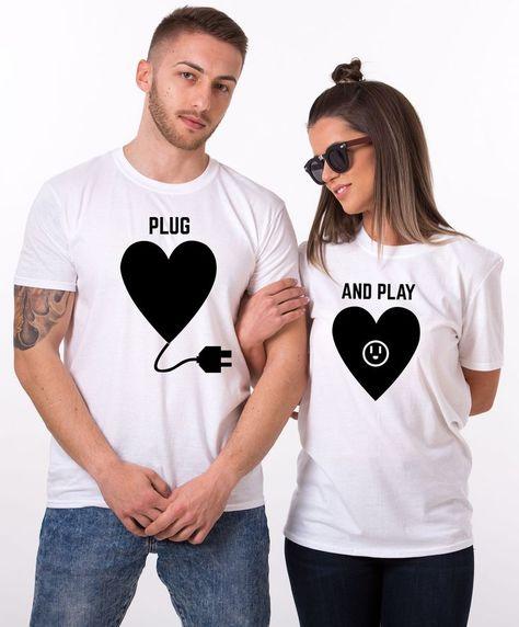 63 Ideas De Día De Enamorados Playeras Para Parejas Camisas Para Parejas Camisetas Personalizadas Para Parejas