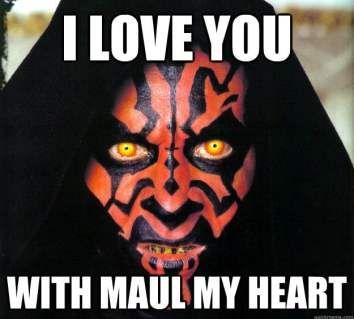 50 Funniest Valentine Memes For Funny Valentine S Day Darth Maul Wallpaper Star Wars Darth Maul
