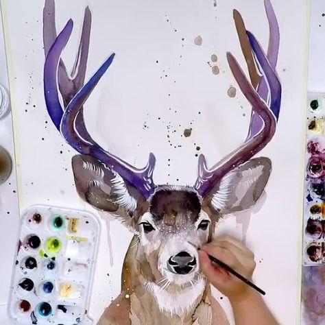 Best 12 Watercolor demo timelapse video – SkillOfKing.Com