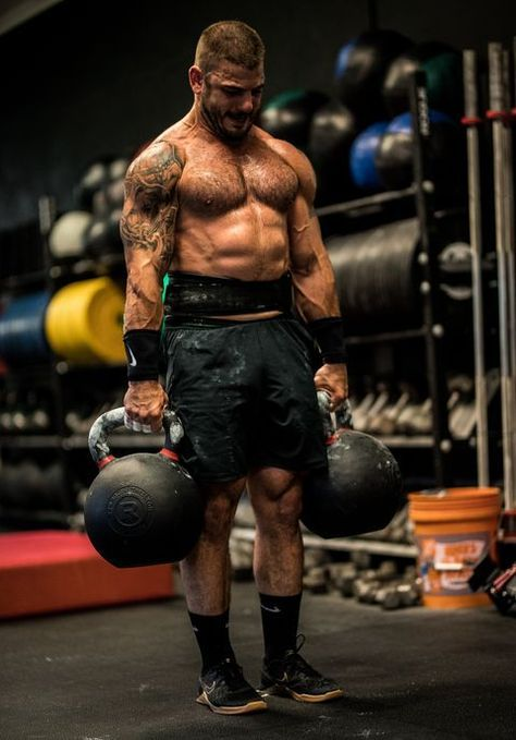 Crush This Grueling Crossfit Workout With Help From The Fittest Man On Earth Crossfit Workouts Crossfit Open Workouts Mens Fitness