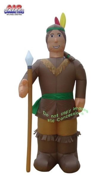 American Indian Thanksgiving Inflatable