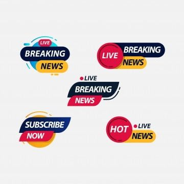 Breaking News Live Tv Label Logo Vector Template Design Illustration Logo Icons Tv Icons News Icons Png And Vector With Transparent Background For Free Downl Vector Logo Pet Logo Design Tv