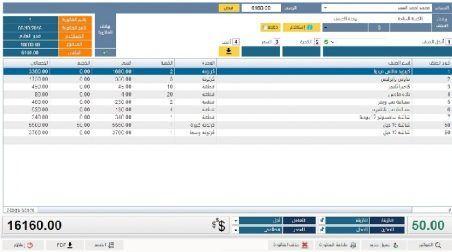 برنامج ادارة المحلات التجارية مصمم بالاكسيس Periodic Table Management Ten