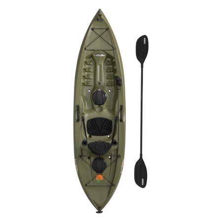 Lifetime Tamarack Angler 10 Ft Fishing Kayak Paddle Included 90818 Walmart Com In 2020 Kayak Fishing Kayak Paddle Best Fishing Kayak