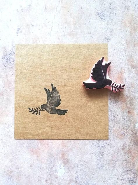 Dove bird rubber stamp for country wedding, Garden ceremony supply, woodland craft, wildlife stationery, olive branch, pigeon animal   - **** Etsy Group Board **** - #animal #bird #board #branch #ceremony #Country #Craft #Dove #Etsy #Garden #Group #olive #pigeon #rubber #stamp #Stationery #supply #Wedding #wildlife #Woodland