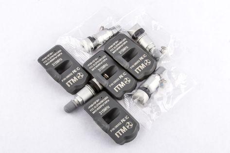 ITM Set of 4 315mhz TPMS Tire Pressure Sensors 2005 2006 2007 2008 2009 Chevrolet Corvette Replacement