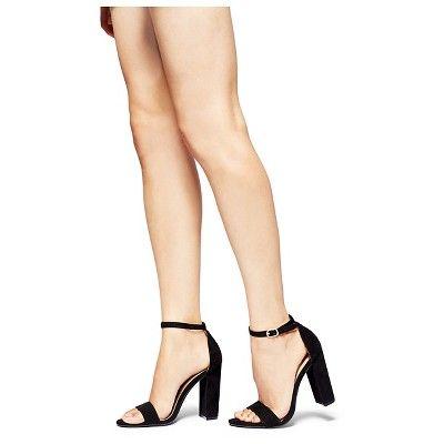 331fd77b68b Women's Lulu High Block Heel Sandal Pumps with Ankle Straps Merona ...
