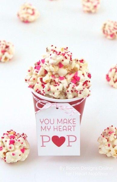 Pop something extra yummy  - Valentine's Day Treats for Kids - Photos