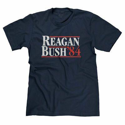 Ronald Reagan George Bush 1984 Vintage Republican President Funny T Shirt Tee Fashion Clothing Shoes Ac In 2020 Vintage Republican Funny Tshirts Ladies Tee Shirts