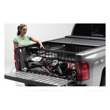 Roll N Lock Cm221 Cargo Manager Rolling Truck Bed Divider Walmart Com In 2021 Bed Divider Truck Bed Storage Truck Bed