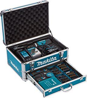 Makita Dhp453rfx2 Schlagbohrmaschine 2 Batterien 18v 3 0 Ah Makita Drill Driver Cordless Impact Drill