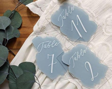 Geometric Table Numbers for Wedding Gold Laser Cutout Hexagon   Etsy #diywedding