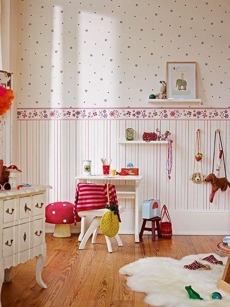 Vliestapete Von Esprit Girl S Dreams Kinderzimmer Von