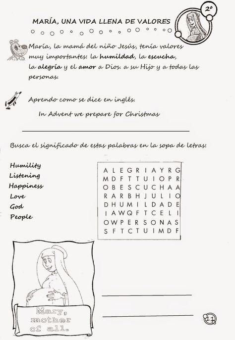 Mis Alumnos Y Sus Trabajos Nos Preparamos Fichas 2º Primaria Words Word Search Puzzle Search