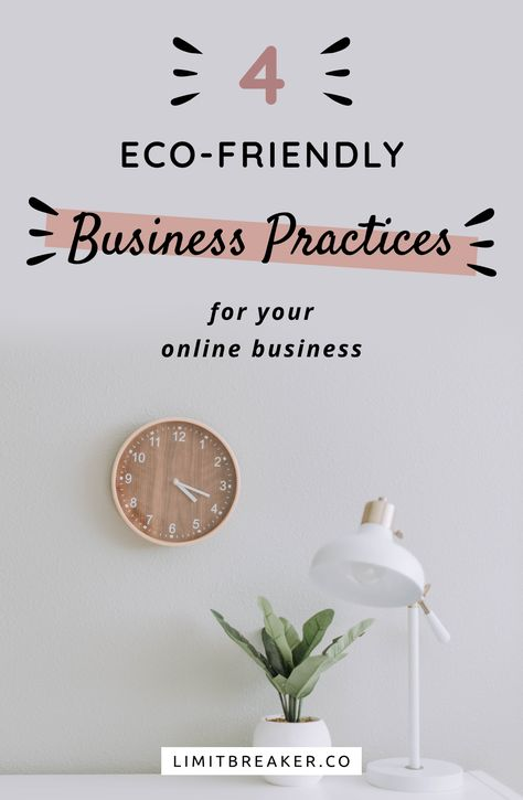 5 Eco-Friendly Business Practices for Your Online Business