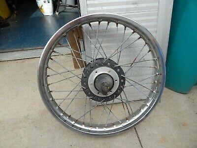 Kawasaki H1 500 1972 H2 Triple Front Wheel Hub Rim 1 85x19 303 K31 Ebay In 2020 Kawasaki Motorcycle Parts And Accessories Wheel