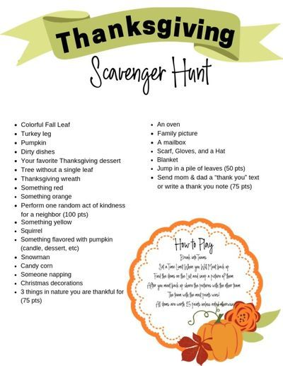 Thanksgiving Scavenger Hunt Confessions Of Parenting In 2020 Thanksgiving Scavenger Hunt Thanksgiving Family Activities Thanksgiving Kids