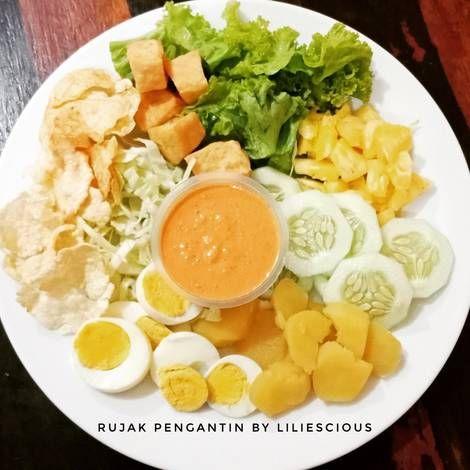 Resep Rujak Pengantin Oleh Lilies Resep Makanan Resep Rebusan