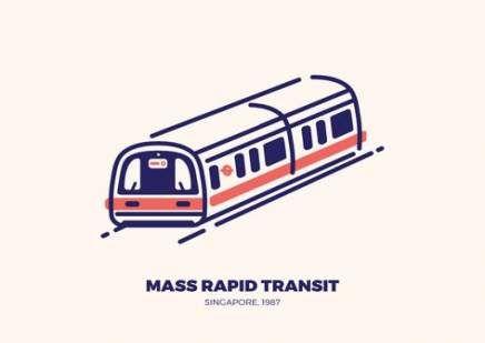 Super Mrt Training Drawing Ideas Train Illustration Rapid Transit Subway Map Design