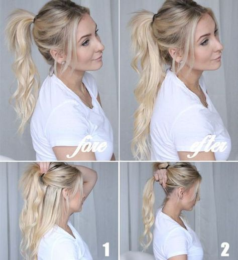XXL Volume: With these 8 tricks every boring hairstyle becomes a WOW look!  #becomes #boring #every #hairstyle #these #tricks #volume