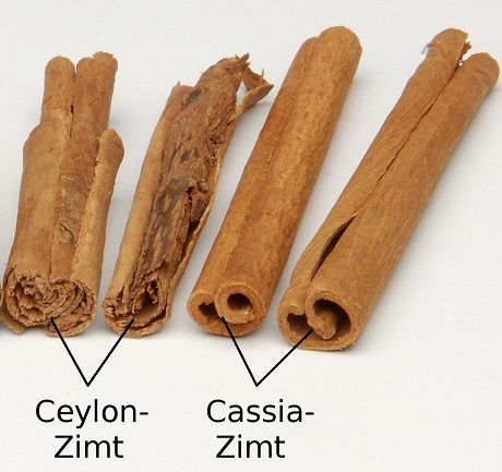 Unterschied Ceylon Zimt Cassia Zimt Zimt Abnehmen Cassia Zimt Zimt