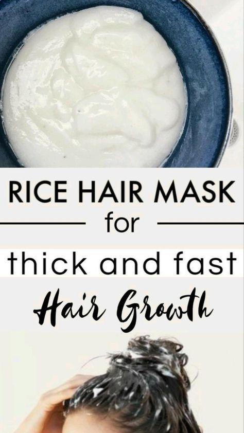 rice hair mask