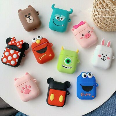 Stylish And Colorful Earphone Case Cover For Apple Airpods Charging Case Airpods Earphone Cute Ipod Cases Earbuds Case Pattern Iphone Case