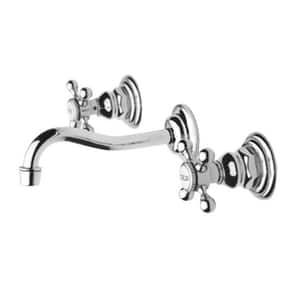 Newport Brass Chesterfield 3 Hole Widespread Lavatory Faucet With Double Cross Handle And 7 1 4 In Spout Reach Newport Brass Wall Mount Faucet Lavatory Faucet