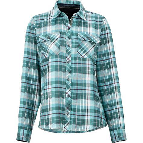 Womens Bridget MidWt Flannel LS Shirt