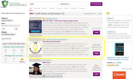 Free Advertising for Your Tutoring Business - The Knowledge Roundtable