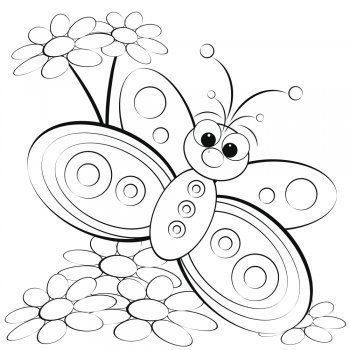 Maquillajes De Fantasia Para Los Ninos Mariposas Para Colorear Dibujos De La Creacion Dibujos De Mariposas